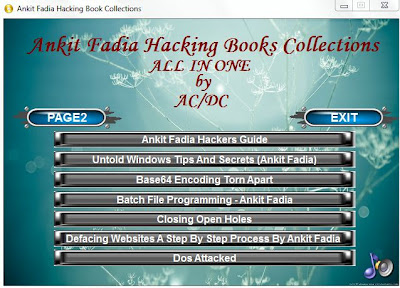 Hacking Ebooks collections of Ankit Fadia | 20 books pdf Free